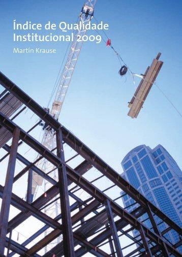 Índice de Qualidade Institucional 2009 - Instituto Liberdade