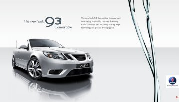 The new Saab Convertible - Sunriseleasing.co.uk