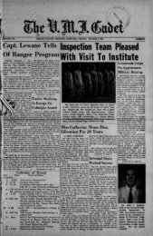 The Cadet. VMI Newspaper. October 09, 1959 - New Page 1 [www2 ...