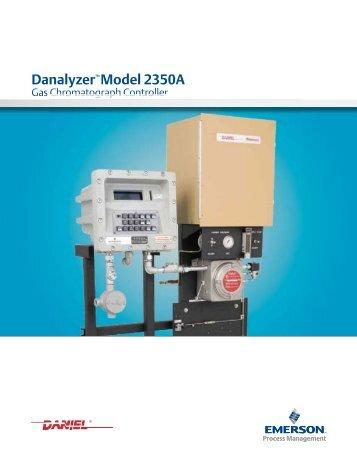 Emerson gas chromatography 2350a Manual