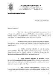 Oficio nº 02/05 - USP