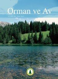 Yıl: 2012 / Mart - Nisan / Sayı:2 - Türkiye Ormancılar Derneği