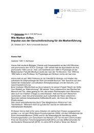 Text zum Download - Gesellschaft zur Erforschung des ...