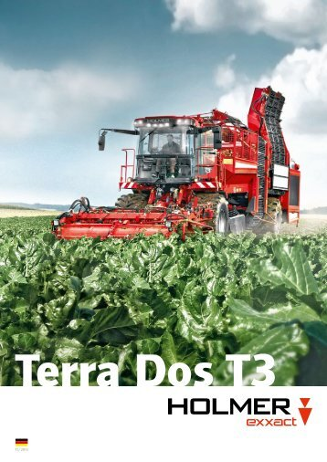 Prospekt Terra Dos T3 deutsch - Holmer Maschinenbau GmbH