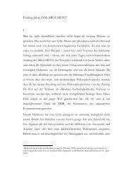 Fünfzig Jahre DAS ARGUMENT - Wolfgang Fritz Haug