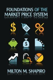 Foundations of the Market-Price System by Milton Shapiro