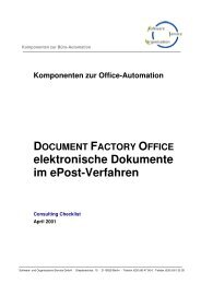 elektronische Dokumente im ePost-Verfahren - SOS-Berlin
