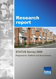 Download Stafford and Rural Homes STATUS Survey 2008-9