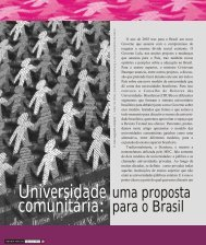 Universidade comunitária: - Sinpro/RS