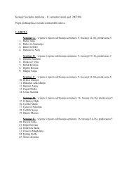 Popis podskupina za izradu seminarskih radova