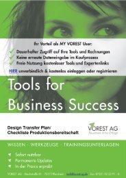 Design Transfer Plan / Report DIN EN ISO 13485 - Vorest AG
