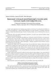 wawczym zespołu cieśni nadgarstka (zcn) - Przegląd Medyczny ...