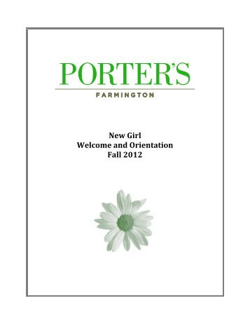 Opening Days Schedule, 2012 FOR WEB AND PP - Miss Porter's ...