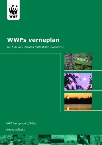 WWFs verneplan for artsrike skoger