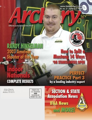 the 2008 national indoor results - National Field Archery Association