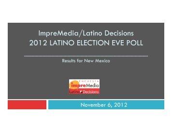 New Mexico - Latino Decisions