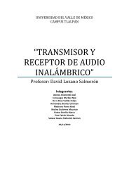 transmisor y receptor de audio inalámbrico - Campus Tlalpan