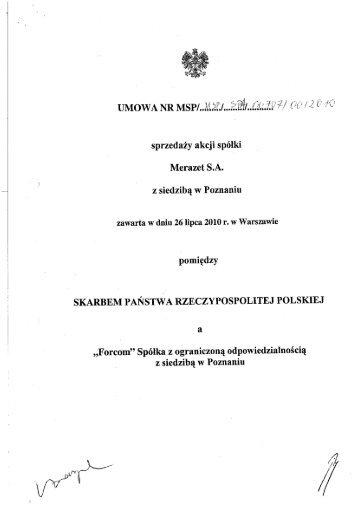 pobierz plik - Prywatyzacja - Ministerstwo Skarbu Państwa