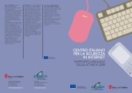 CENTRO ITALIANO PER LA SICUREZZA IN INTERNET - Europa