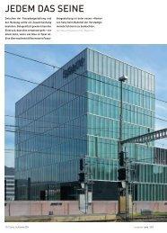 Jedem das Seine - September - Colliers International Zurich