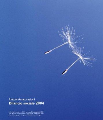 Bilancio Sociale 2003 - Impronta Etica