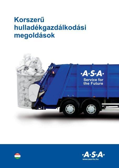 Az .A.S.A. Magyarországon - bemutatkozó anyag