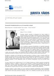 Page 1 of 5 Jurista Vārds 17.01.2011 http://juristavards.lv ... - Sorainen