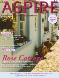 Rose Cottage - Aspire Magazine
