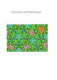 Symmetrien und Pflasterungen