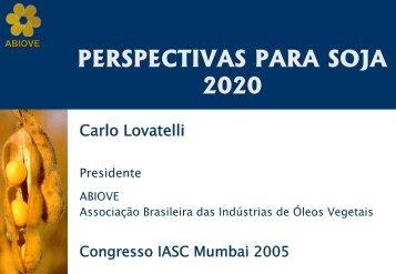 10% - ABIOVE - Associação Brasileira das Indústrias de Óleos ...