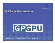 CPU's vs. GPU's