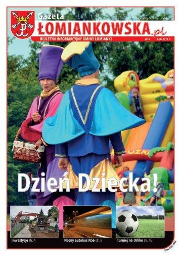 Gazeta Łomiankowska.pl nr 5 z 8 czerwca 2012 (pdf 3,56 MB)