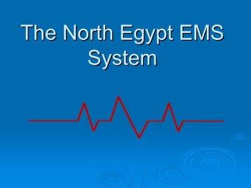The North Egypt EMS System - Smgsi.com