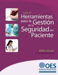 curso herramientas seguridad paciente - Centro de Gestión ...