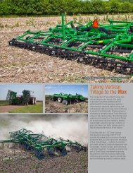 Taking Vertical Tillage to the Max - Great Plains Manufacturing