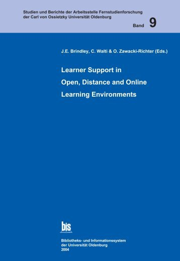 Learner Support in Open, Distance and Online Learning Environments