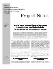 Introducing an improved financial accounting system in urban local ...