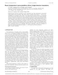 Room temperature nanocrystalline silicon single-electron transistors