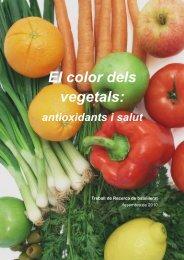 El color dels vegetals: - Premis Universitat de Vic als millors treballs ...