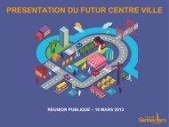 Présentation du projet du futur centre-ville - Gennevilliers