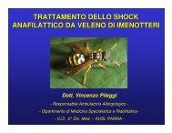 trattamento dello shock anafilattico da veleno di imenotteri - Aicod