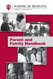 Parent and Family Handbook - IUPUI Alumni Relations