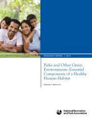 Parks and Other Green Environments - National Recreation and ...