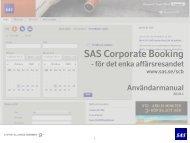 Användarmanual - SAS