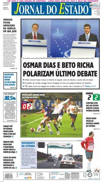 MOVIMENTO NA ESTRADA IMPASSE FECHA ... - Bem Paraná