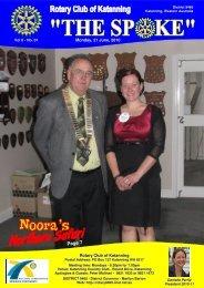 Vol 6-01-June 28 - Katanning Rotary Club