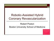 Robotic-Assisted Hybrid Coronary Revascularization