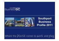 Southport Business Profile 2011 - Business Gold Coast