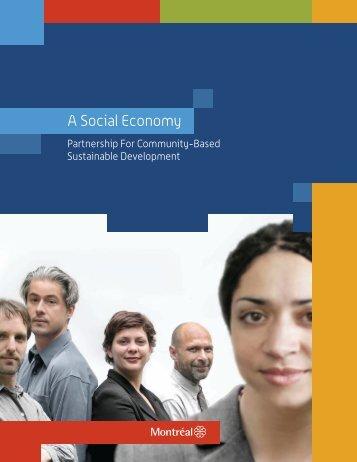 Partnership For Community-Based Sustainable ... - Ville de Montréal
