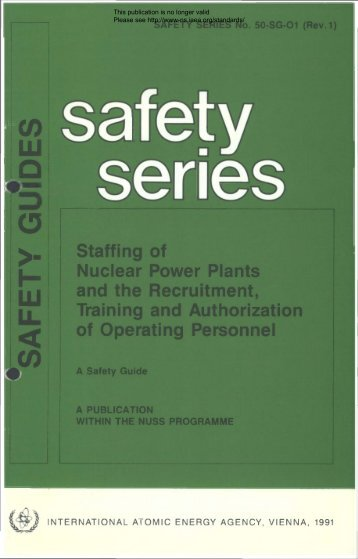 Safety_Series_050-SG-O1_1991 - gnssn - International Atomic ...